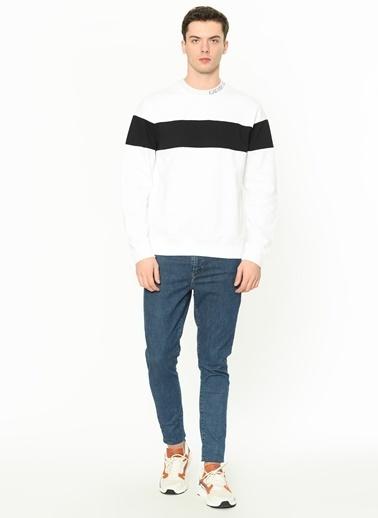 Calvin Klein Sweatshirt Beyaz